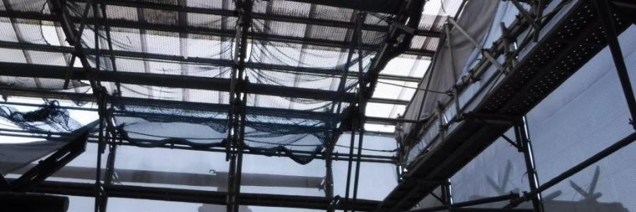 素屋根工事